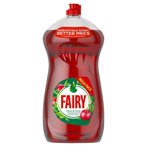 Fairy Fairy Afwasmiddel Clean & Fresh Pomegranate & Honeysucle  1190 ml