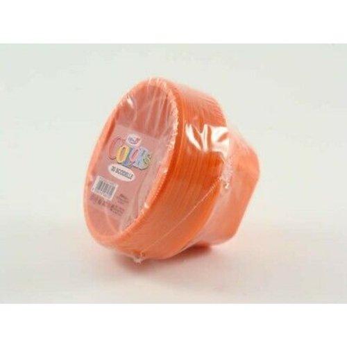 Dopla Plastic Soepkom - Oranje 30st
