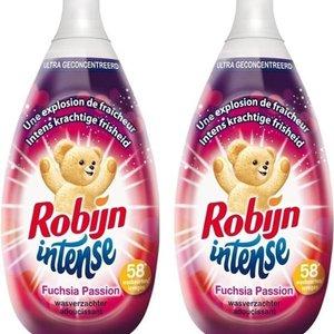 Robijn Robijn Intense Wasverzachter Fuchsia Passion - 58 Wasbeurten 870 ml