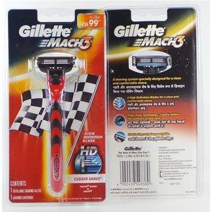 Gillette Gillette Mach3 Scheerapparaat + 1 Scheermesje