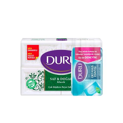 Duru Duru handzeep Classic 600 gr +Douche Zeep Ocean Fresh 150 gr