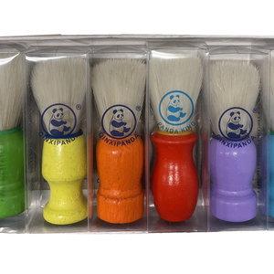 Eda Eda Scheerkwast - Hout  Mix kleuren