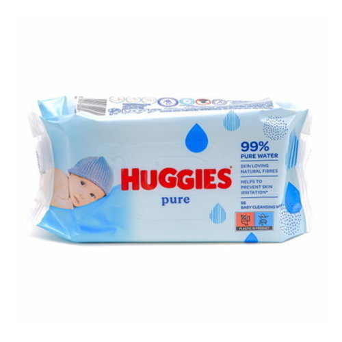 Huggies Huggies Babydoekjes 56 st Pure