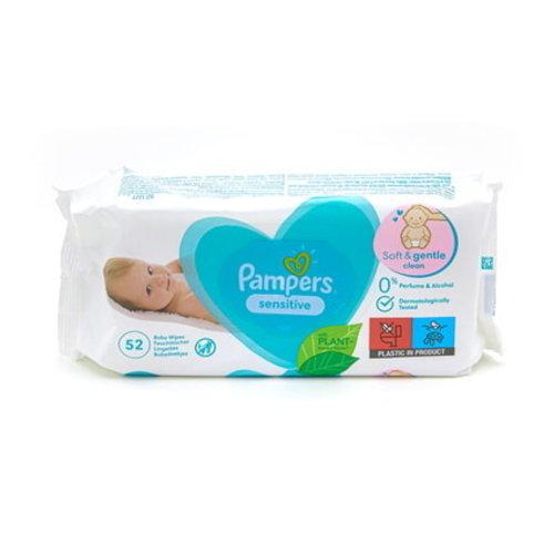 Pampers Pampers Babydoekjes Sensitive 52 stuks