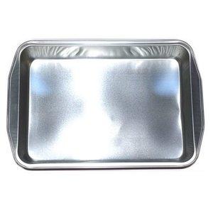Onbekend Alu smartypan 3405.KOPER  Yandan Tutmali Zilver /75 (32.5cm-26.5)