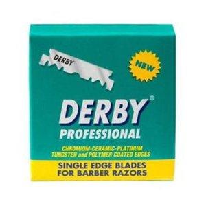 Derby Derby Scheermesjes Plat - Profesyonel (100 mesjes)