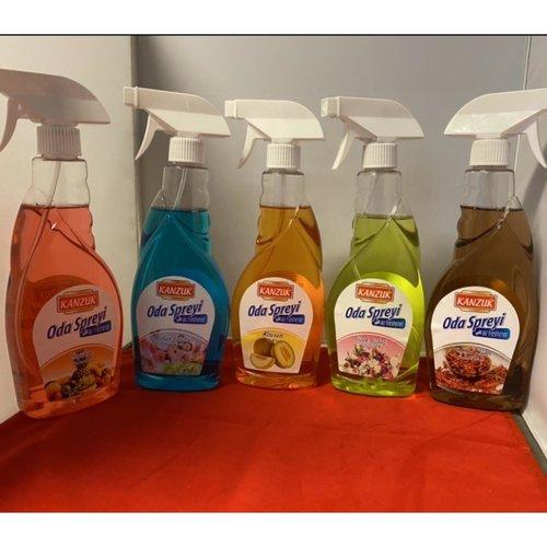 Air time Kanzuk  Luchtverfrisser - Mix Spring Breeze,Melon ,Corsage,Sandal Wood,Tropical 500 ml