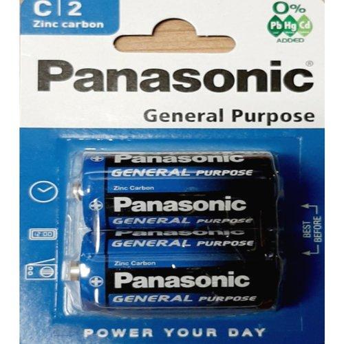 Panasonic Panasonic R14 Size C 1.5V batterij