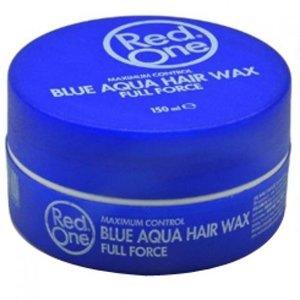 RedOne RedOne Full Force Aqua Hair Gel Wax  Blauw 150 ml