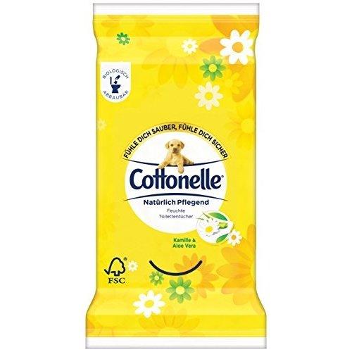 Cottonelle toiletdoekjes Kamille & Alovera 12 doekjes