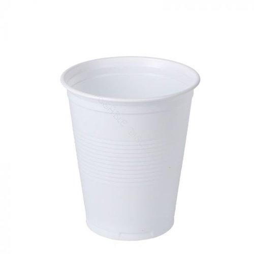 Huhtamaki Huhtamaki Drinkbeker, PS,Koffie Beker Automaat 180ml,wit,100st