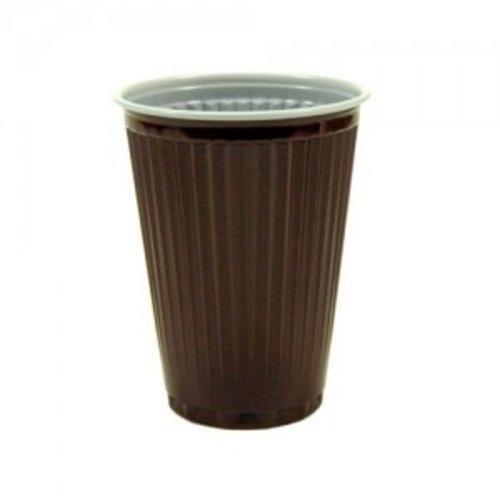 Huhtamaki Huhtamaki Automaat Koffie Bekers Bruin-Wit 180cc/200cc
