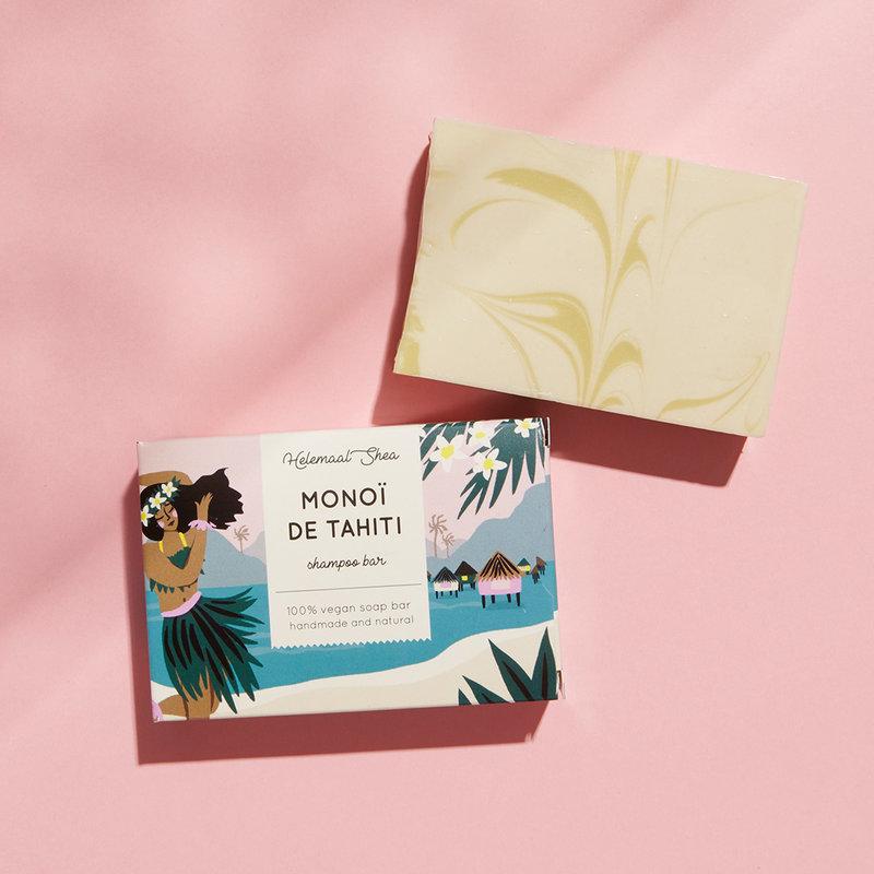 Monoï de Tahiti Haarzeep - shampoo bar voor alle haartypen