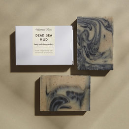 HelemaalShea Dead Sea mud body and shampoo bar