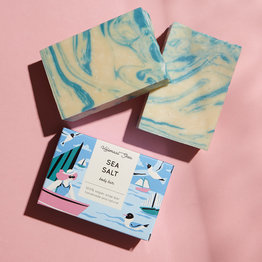 HelemaalShea Sea salt soap