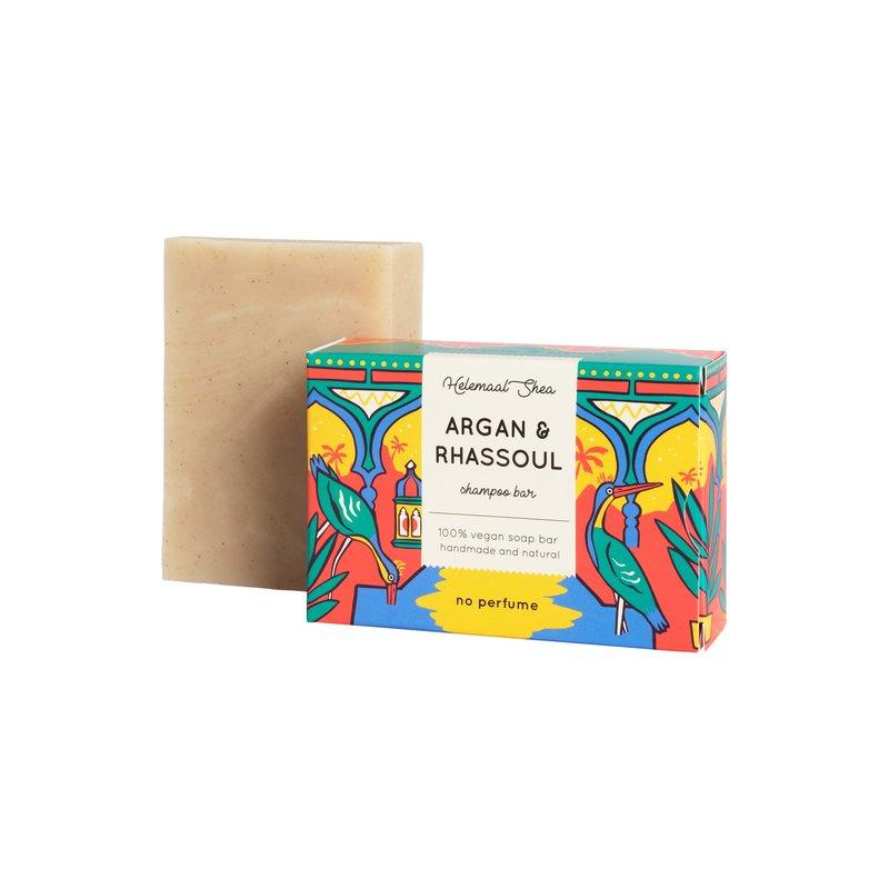 Argan & Rhassoul haarzeep - shampoo bar voor droog haar