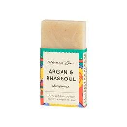 Festes Shampoo - Argan und Rhassoul - Mini