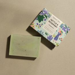 HelemaalShea Nettle & Rosemary shampoo bar