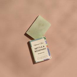 HelemaalShea Brandnetel & Rozemarijn haarzeep - Mini
