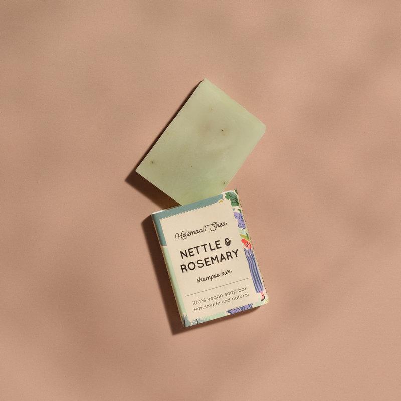 Brandnetel & Rozemarijn haarzeep - Mini