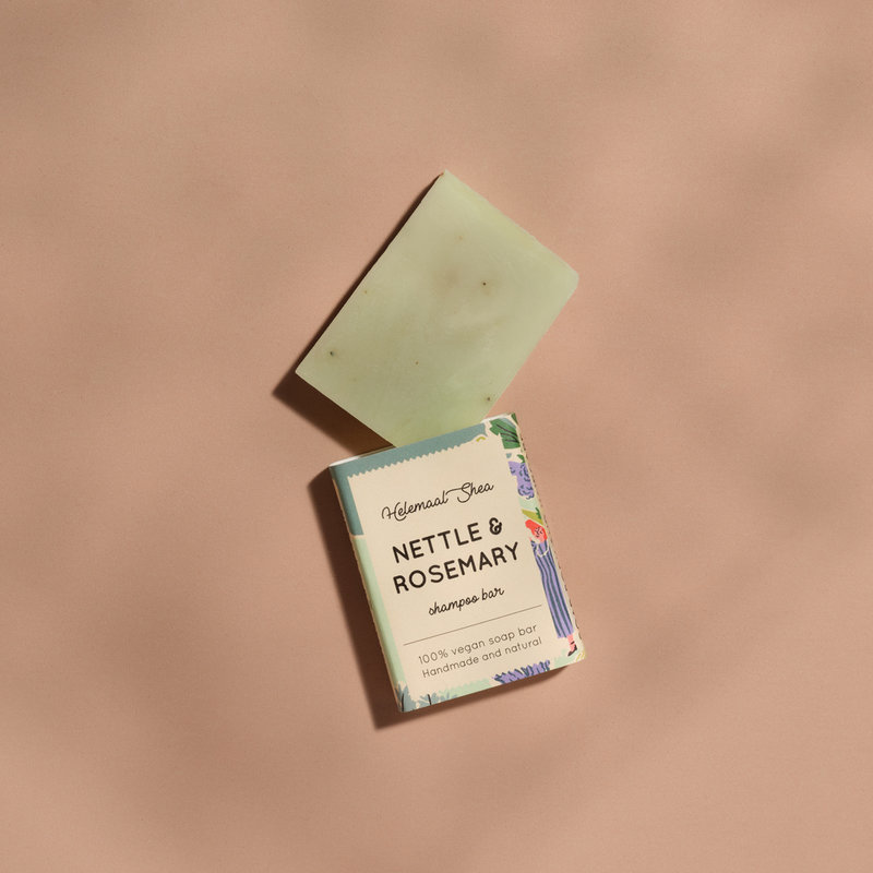 Nettle & Rosemary shampoo bar - Mini
