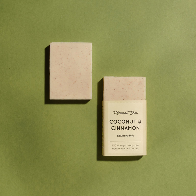 Coconut & Cinnamon shampoo bar - Mini