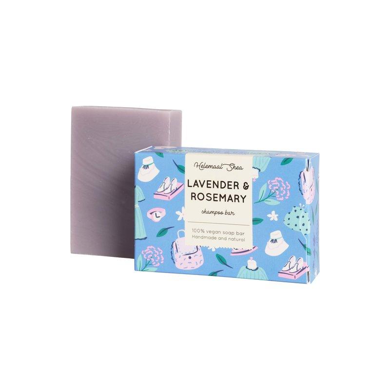 Lavendel & Rozemarijn haarzeep