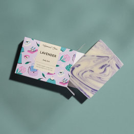 HelemaalShea Lavender soap