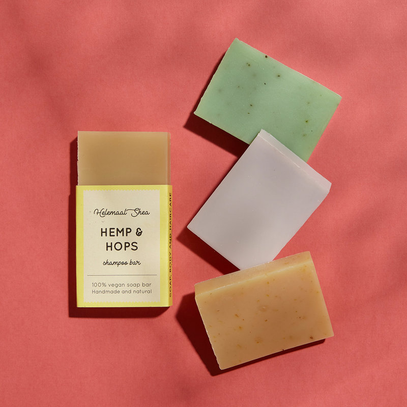 HelemaalShea Trial set of 4 shampoo bars