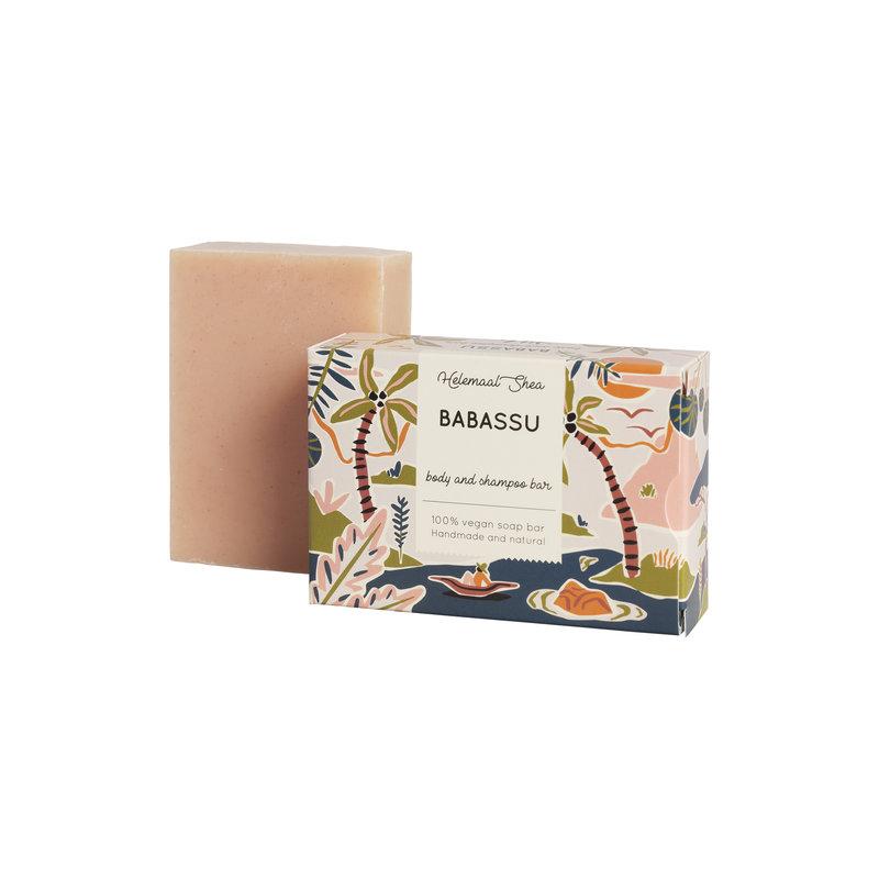 HelemaalShea Babassu haar- en body zeep