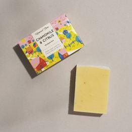 Feste Shampoo - Kamille und Zitrus