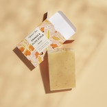 HelemaalShea Orange & Olive scrubsoap