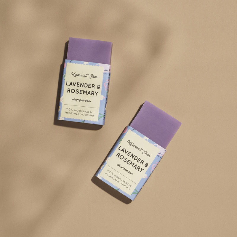 Feste Shampoo - Lavendel und Rosmarin - Mini