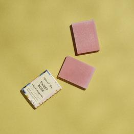 HelemaalShea Sweet rose body and shampoo bar - Mini