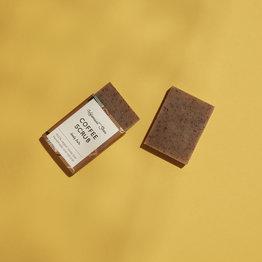 HelemaalShea Coffee scrub soap - Mini