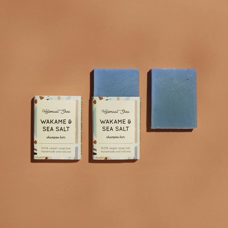 HelemaalShea Wakame & Seasalt Shampoo bar - Mini