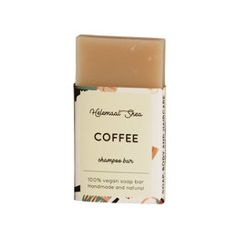 Kaffee festes Shampoo - Mini