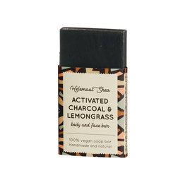 Actieve kool & Citroengras zeep - Mini