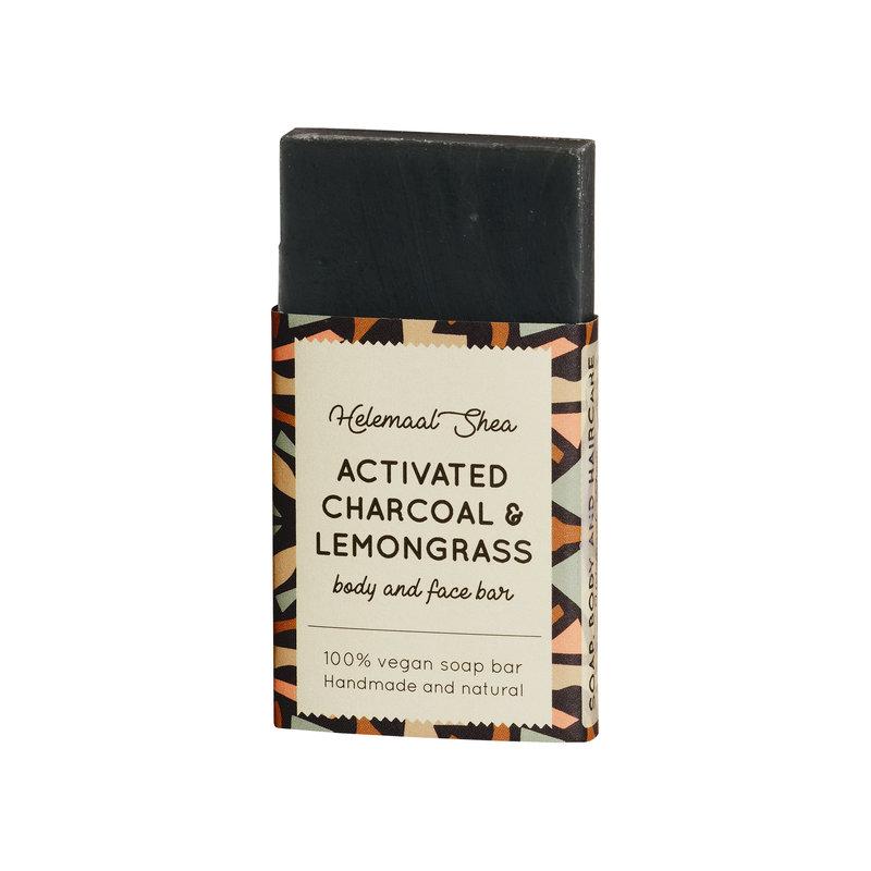 Activated charcoal & Lemongrass soap - Mini