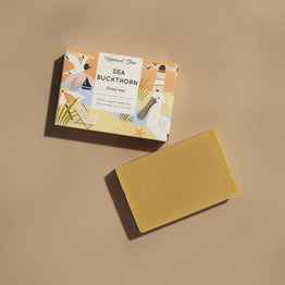 HelemaalShea Sea buckthorn facial soap