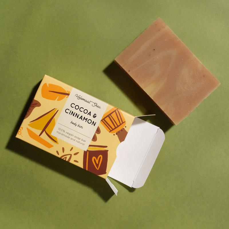 HelemaalShea Cacao & Kaneel zeep