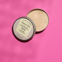 HelemaalShea Clay face mask -Rose