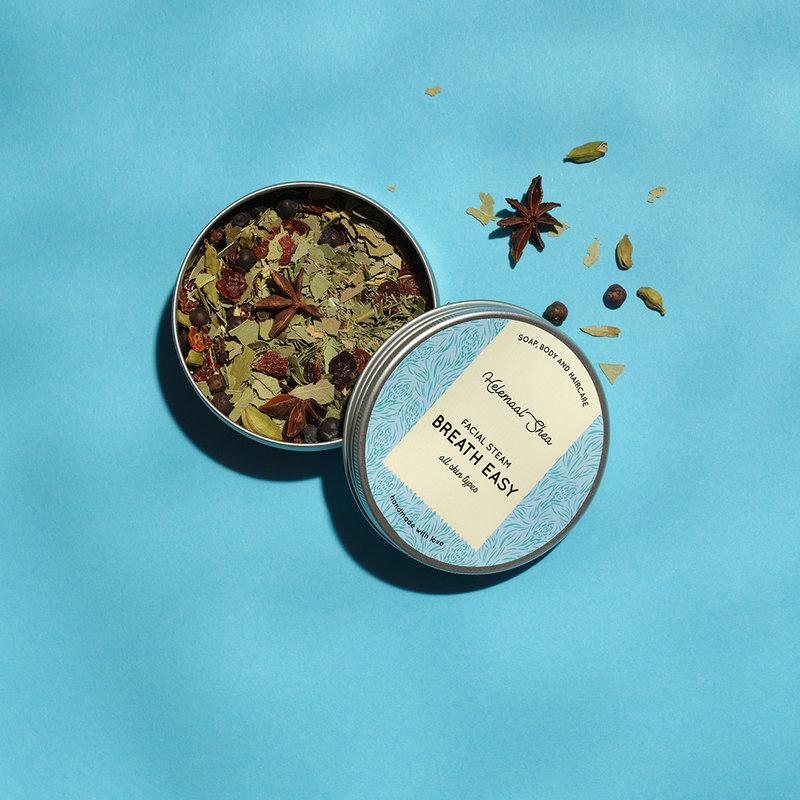 HelemaalShea Facial Steam Herbs - breathe easy