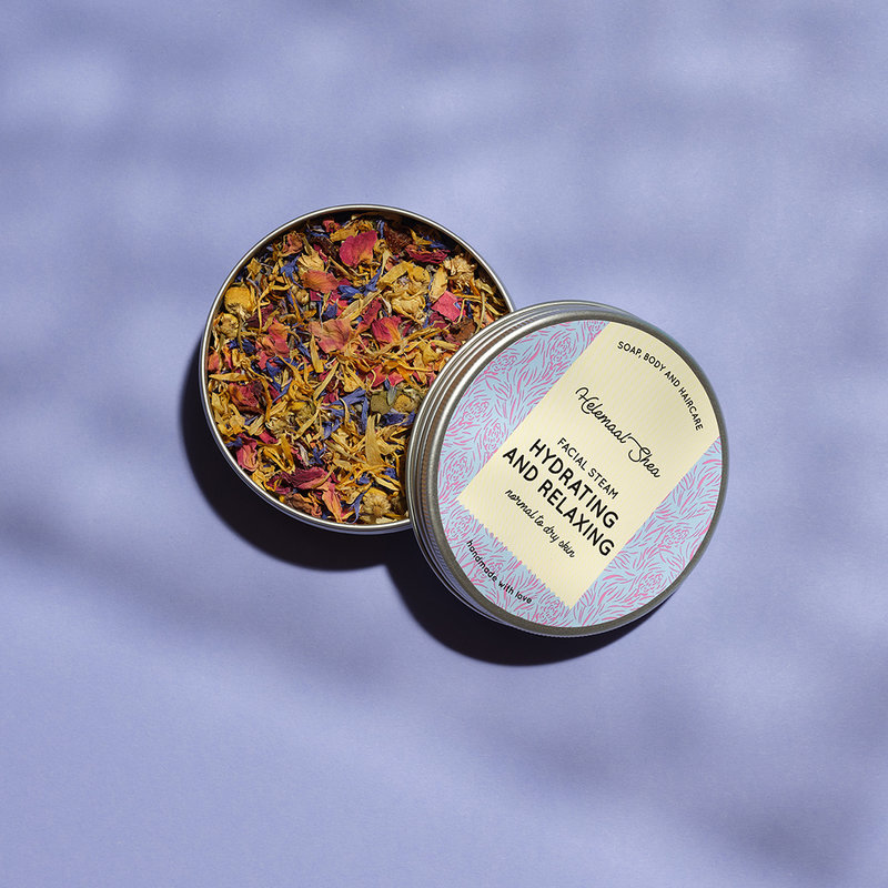 HelemaalShea Facial Steam Herbs - Hydrating and relaxing