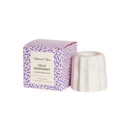 Solid deodorant - new size!- Palmarosa & Geranium