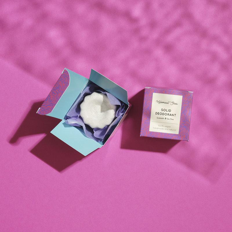 HelemaalShea Solid deodorant - Lavender & Trea tree