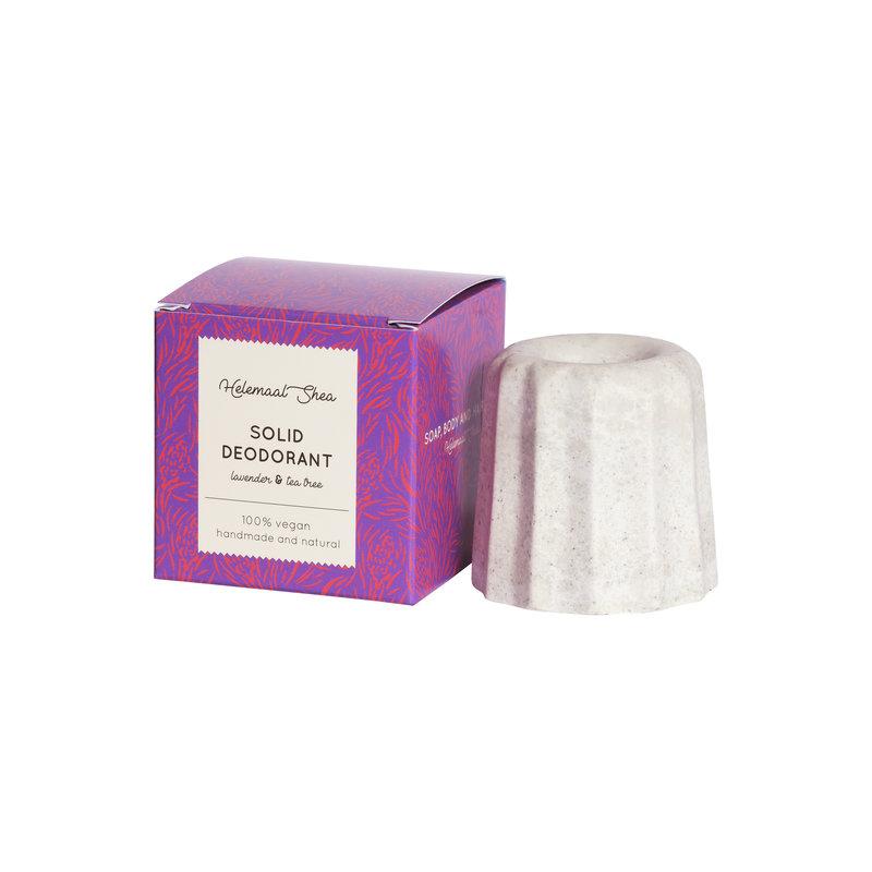 Festes Deodorant - Lavendel & Teebaum