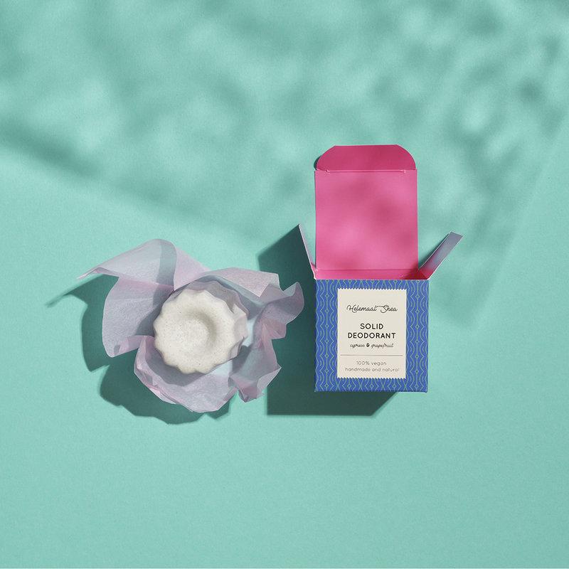 Festes Deodorant - Zypresse & Grapefruit