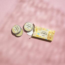 Lippenbalsem - Vanille - 2 blikjes