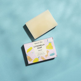 HelemaalShea Citronella Soap